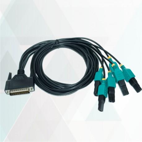 کابل DB25 to 6*2PIN Injector